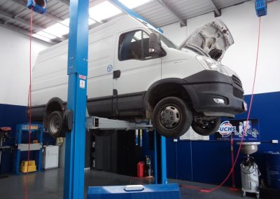 Motorhome Service Commercial Vans RWC